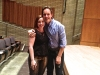 Batt with Jake Heggie. June 2013