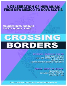 CROSSING BORDERS_Poster by Tom Belding