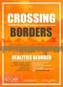 Crossing Borders: Realities Blurred Poster