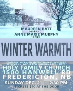 WINTER WARMTH8x10